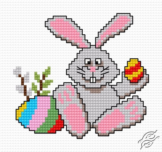 Easter Bunny IV by HaftiX - patterns - 00514