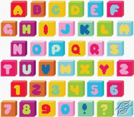 Alphabet - Bobbins by HaftiX - patterns - 00515