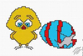 A Chick by HaftiX - patterns - 00529