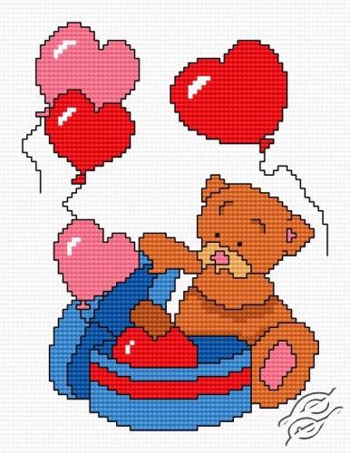Teddy-Bear III by HaftiX - patterns - 00530