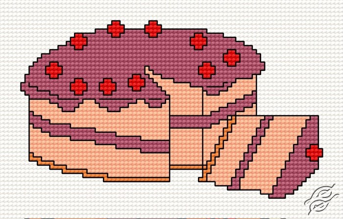 Cake by HaftiX - patterns - 00532
