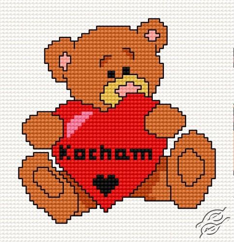 Teddy-Bear IV by HaftiX - patterns - 00535