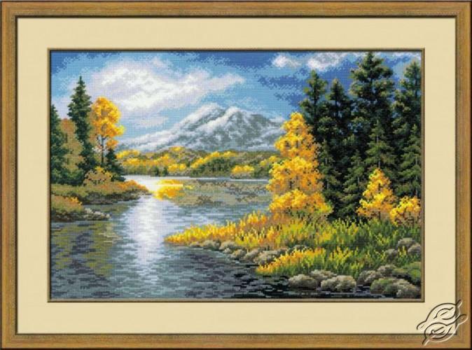 Lake In Mountains by RIOLIS - 1235