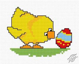 Easter Chick III by HaftiX - patterns - 00540