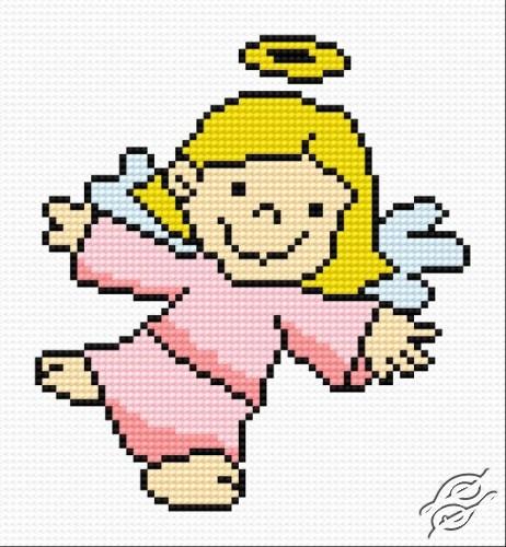 A Small Angel VI by HaftiX - patterns - 00548