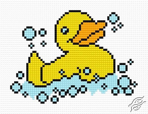 A Rubber Small Duck by HaftiX - patterns - 00551