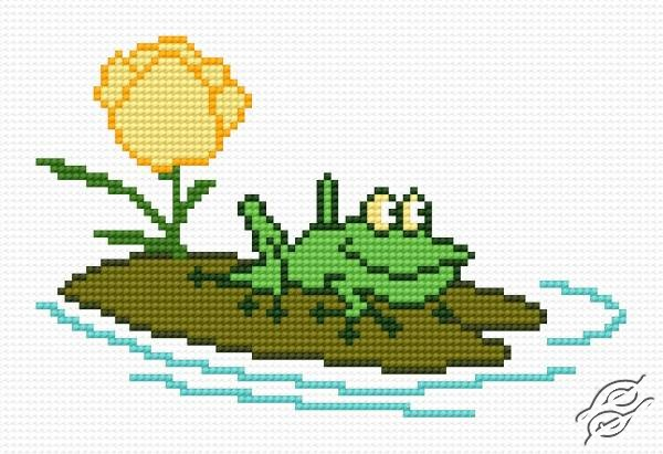 A Small Toad by HaftiX - patterns - 00562