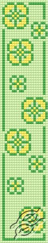 Bookmark In Spring by HaftiX - patterns - 00579