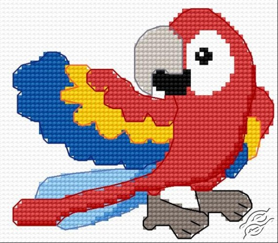 Parrot by HaftiX - patterns - 00600