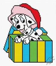 Dalmatian Dog In Box by HaftiX - patterns - 00617