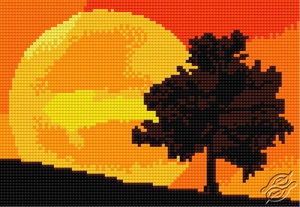 Sunset by HaftiX - patterns - 00624