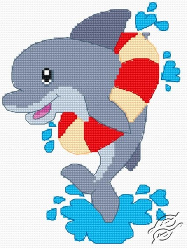 A Small Dolphin by HaftiX - patterns - 00641
