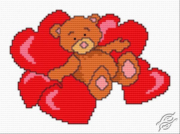 Teddy Bear V by HaftiX - patterns - 00738