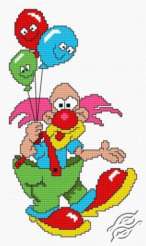 Clown by HaftiX - patterns - 00770