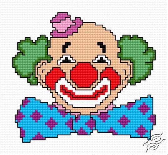 Clown Carol by HaftiX - patterns - 00788