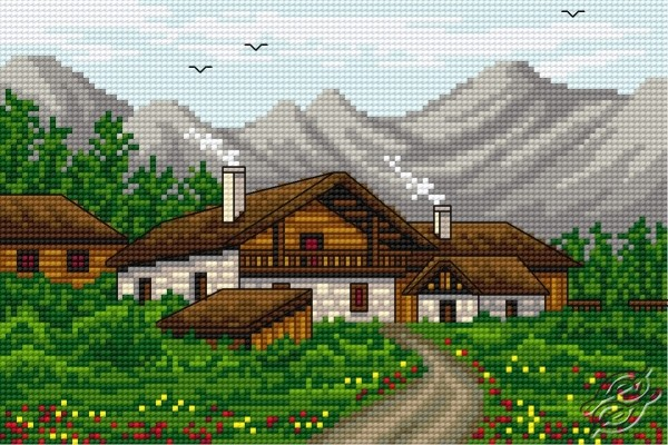 In The Mountains by HaftiX - patterns - 00817