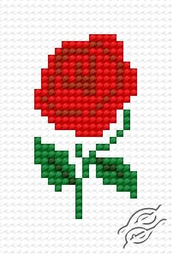 Small Rose by HaftiX - patterns - 00818