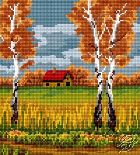 Birch In Autumn by HaftiX - patterns - 00823