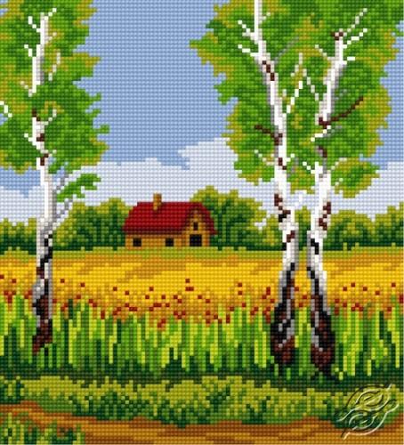 Birch In Summer by HaftiX - patterns - 00824