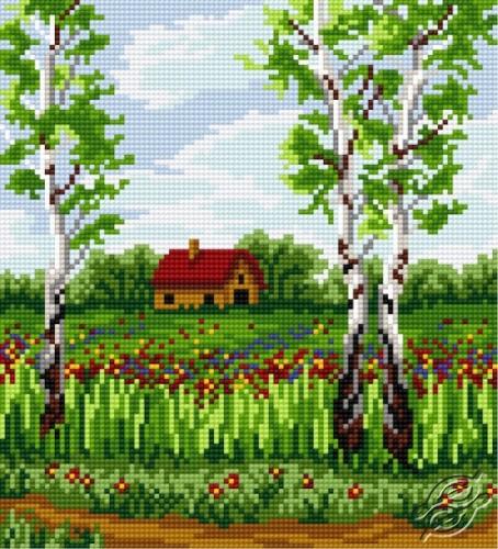 Birch In Spring by HaftiX - patterns - 00825