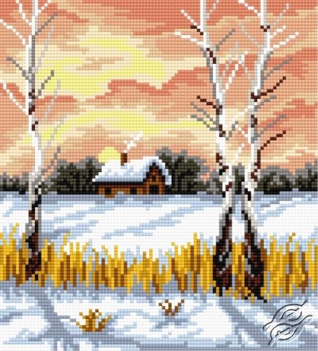 Birch In Winter by HaftiX - patterns - 00831
