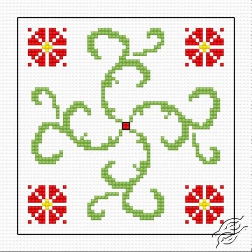 Biscornu I by HaftiX - patterns - 00842