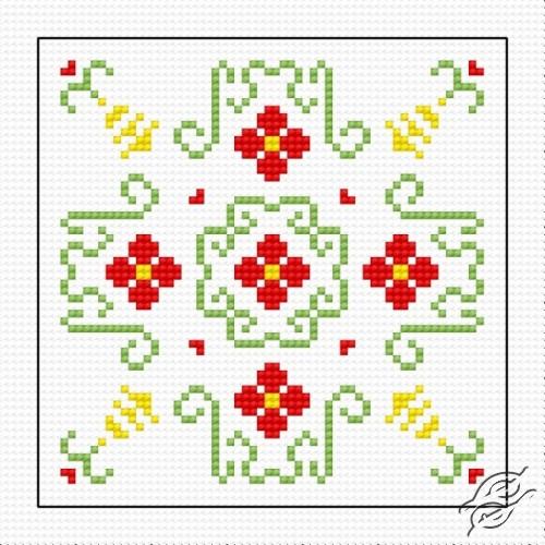 Biscornu II by HaftiX - patterns - 00843