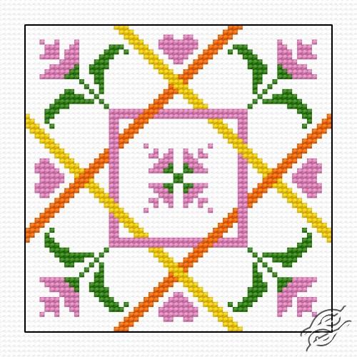 Biscornu III by HaftiX - patterns - 00844