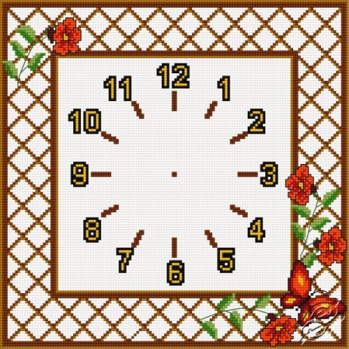 Clock by HaftiX - patterns - 00852
