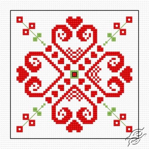 Biscornu IV by HaftiX - patterns - 00856