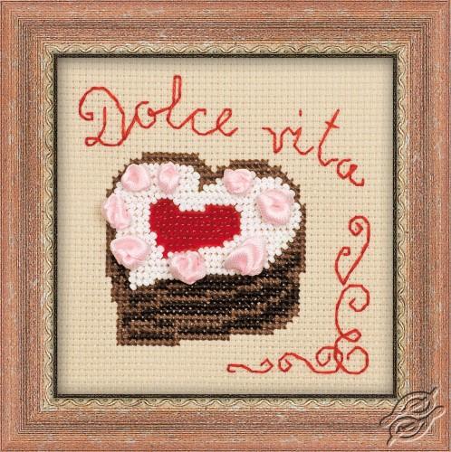 Heart Cake by RIOLIS - 1253