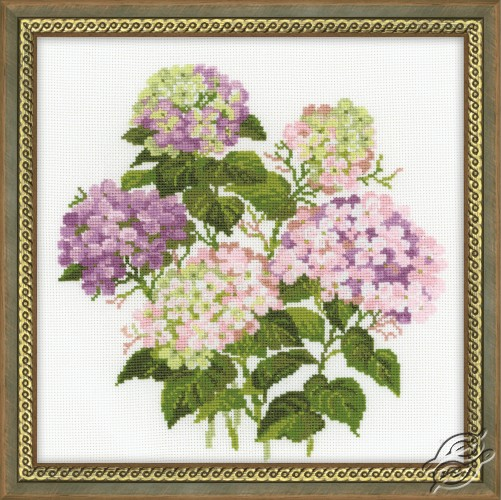 Garden Hydrangea by RIOLIS - 1246