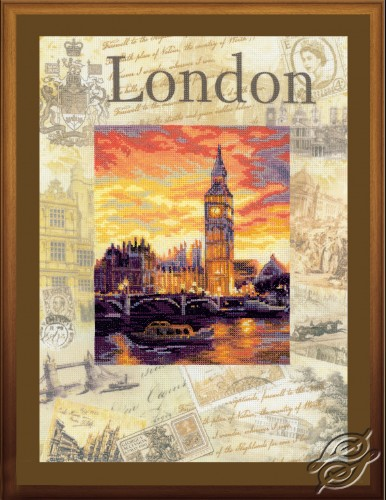 Cities of the World - London by RIOLIS - 0019-PT