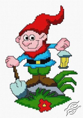 The Gnome by HaftiX - patterns - 00903
