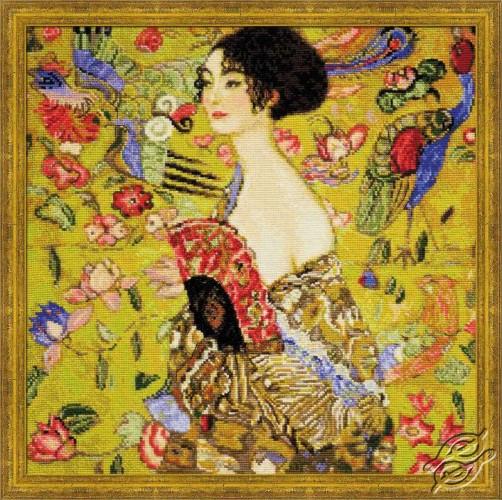 Lady with a Fan by RIOLIS - 1226