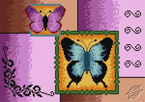 Butterflies by HaftiX - patterns - 00948