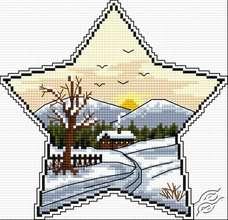 Winter Star I by HaftiX - patterns - 00950