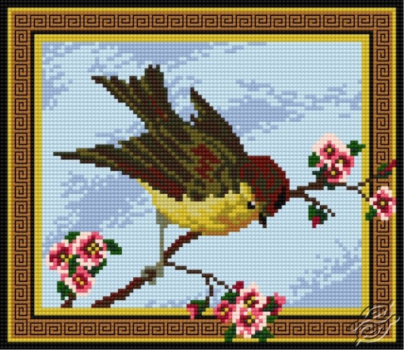 On A Spring Branch by HaftiX - patterns - 00958