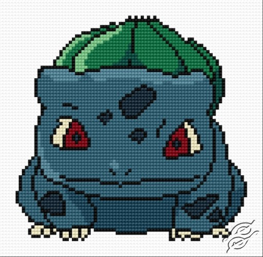 Bulbasaur by HaftiX - patterns - 00966