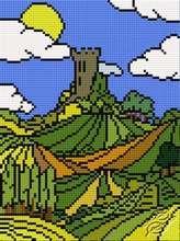 Striped World III by HaftiX - patterns - 00980