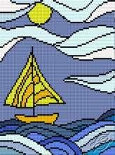 Striped World II by HaftiX - patterns - 00981