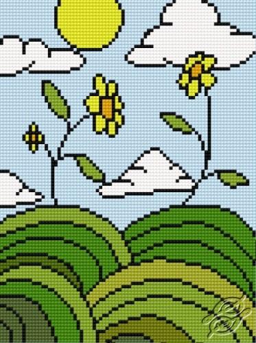 Striped World I by HaftiX - patterns - 00982