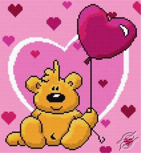 Sweet Teddy Bear by HaftiX - patterns - 01010
