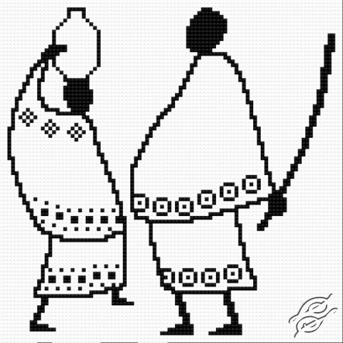 African Pair by HaftiX - patterns - 01028