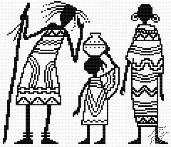 African Family by HaftiX - patterns - 01032