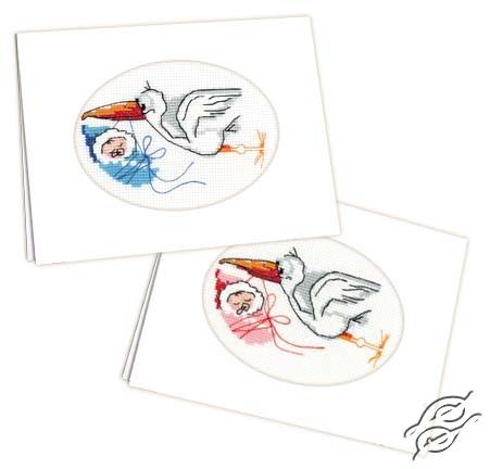 Newborn Card by RIOLIS - 995