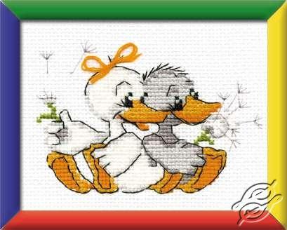 Grandma's Merry Geese by RIOLIS - HB021
