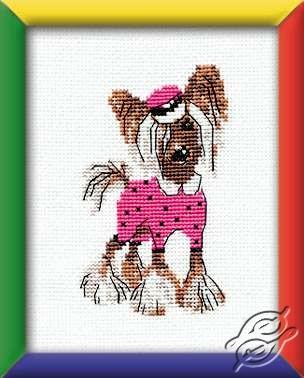 Crested Fashionista by RIOLIS - HB023