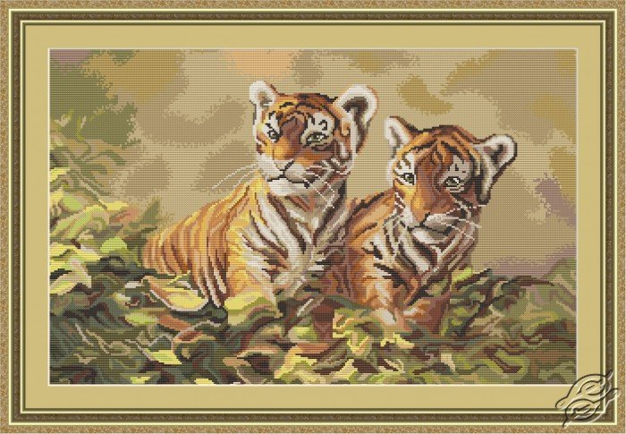 Tiger Cubs II by Luca-S - B442