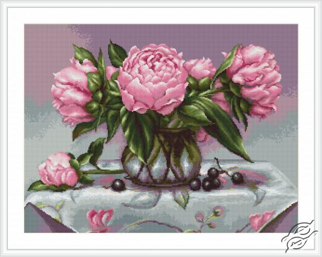 Vase of Peonies by Luca-S - B494